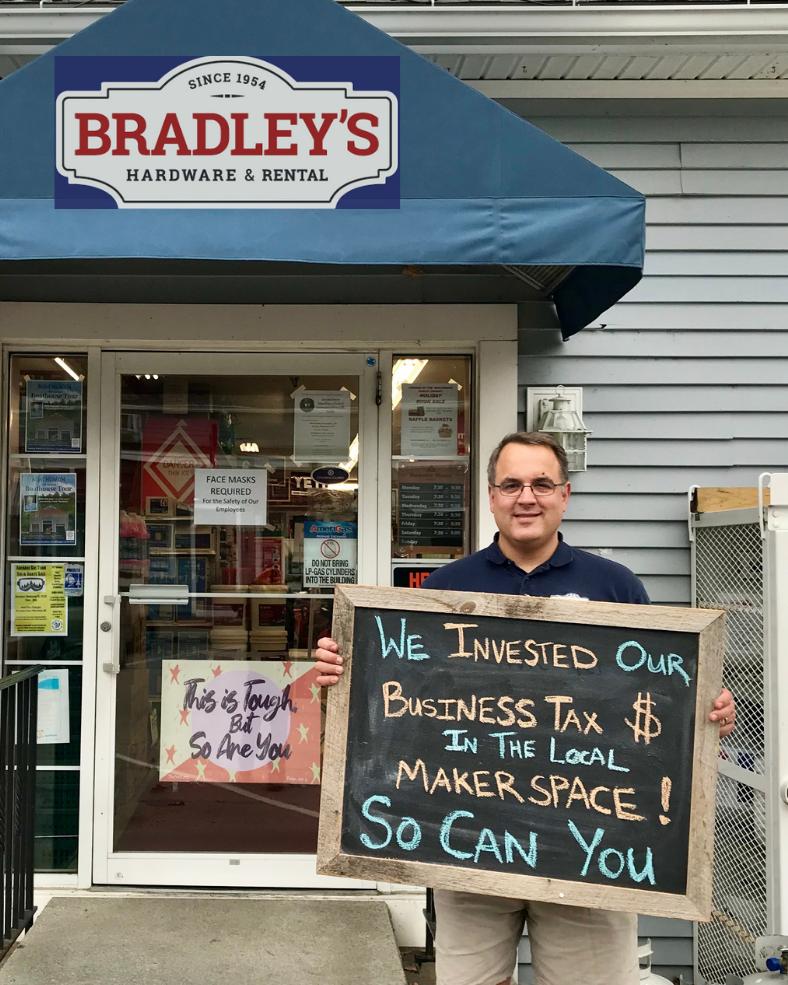 Bradley's Hardware donates tax credits