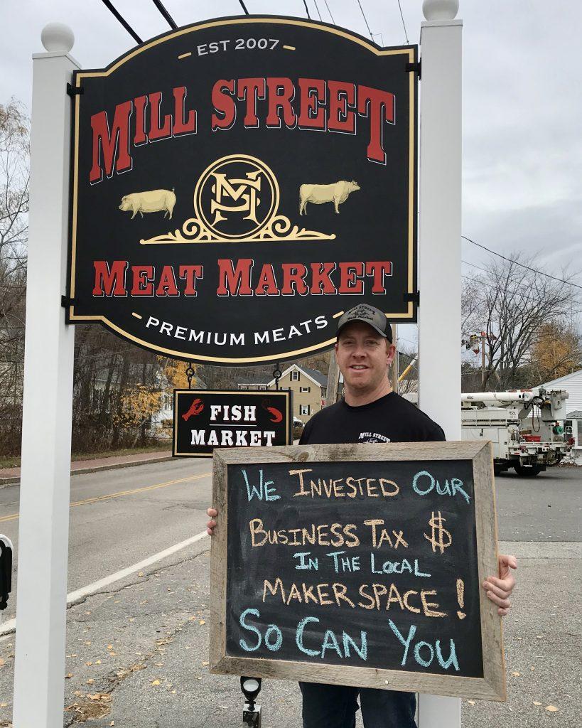 Mill Street Meat Market donates tax credits