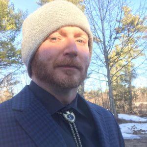 Makerspace volunteer Kenneth Freitag